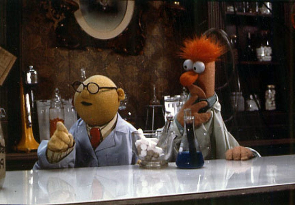 Muppets beaker