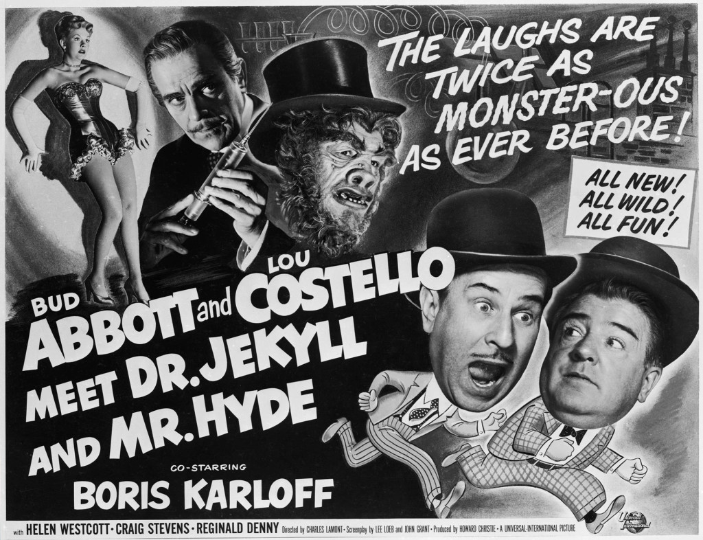 abbott and costello meet dr jekyll and mr hyde online The least believable thing in this movie is that scotland yard would ever hire abbott and costello to be bobbies in some kind of pilot program testing out how well americans do in british law enforcement.
