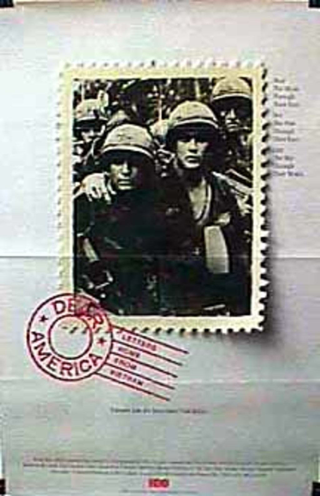 dear america letters home from vietnam Dear america - letters home from vietnam dvd movie video at cd universe, the above stars and others read letters written home by american soldiers stationed in vietnam.