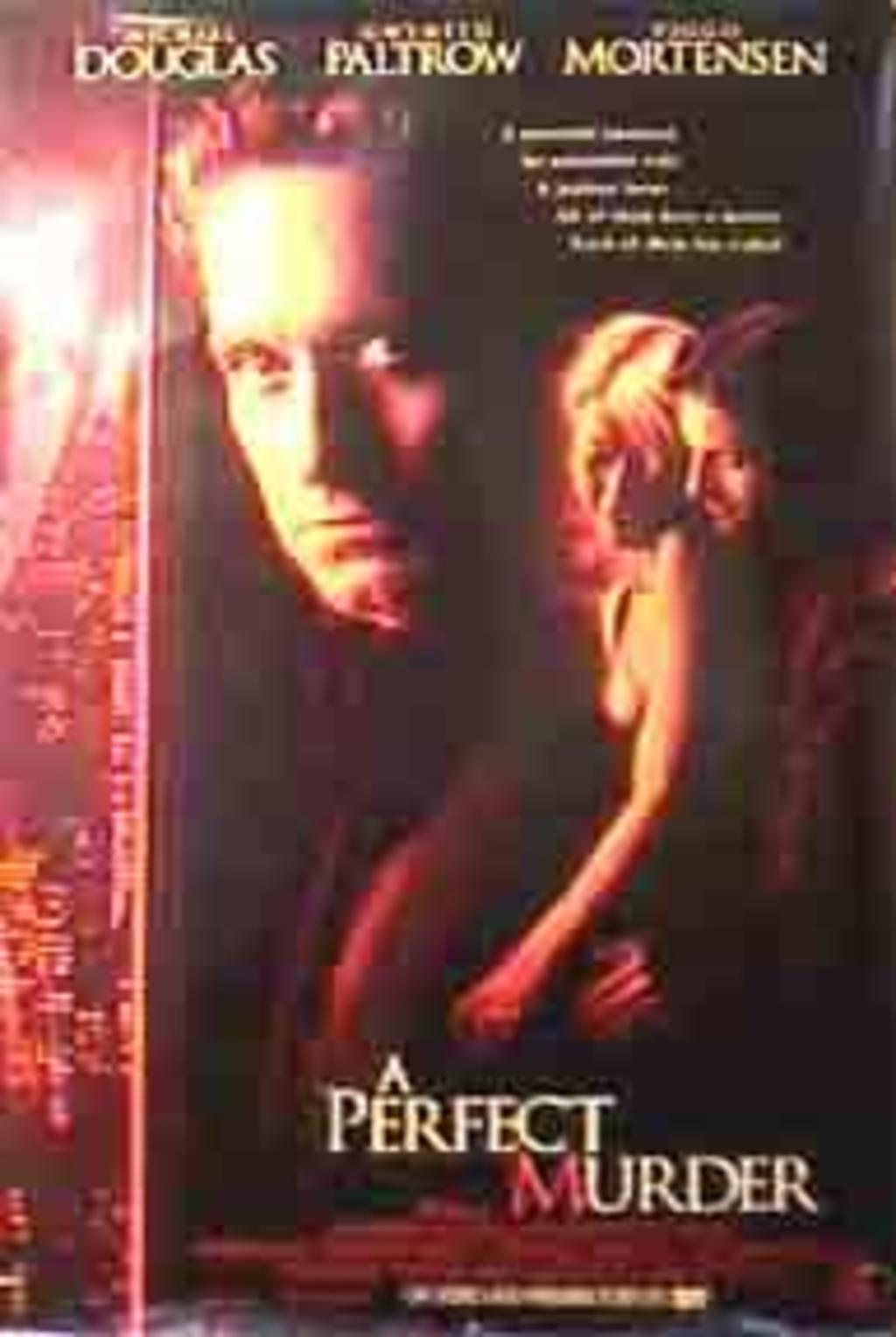 the issue of predictability in a perfect murder a film Watch a perfect murder online free the husband is a currency trader whose portfolio value is going right down the drain while the.