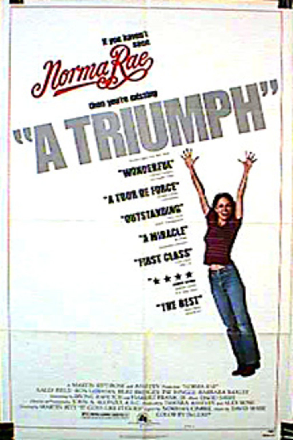 Watch Norma Rae on Netflix Today!