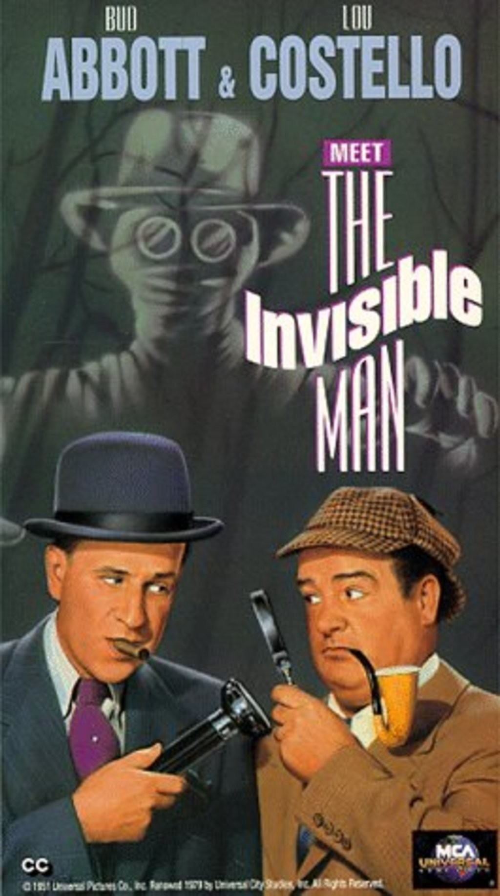 Watch Abbott And Costello Meet The Invisible Man On