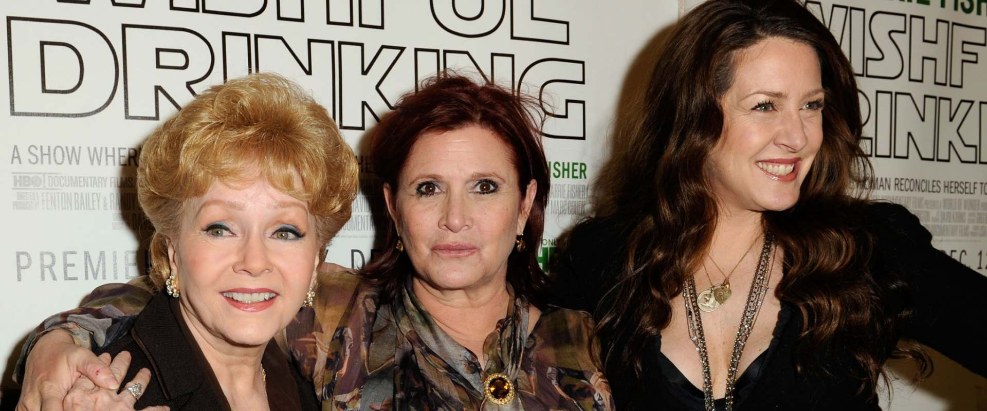 Carrie Fisher: Wishful Drinking background 1