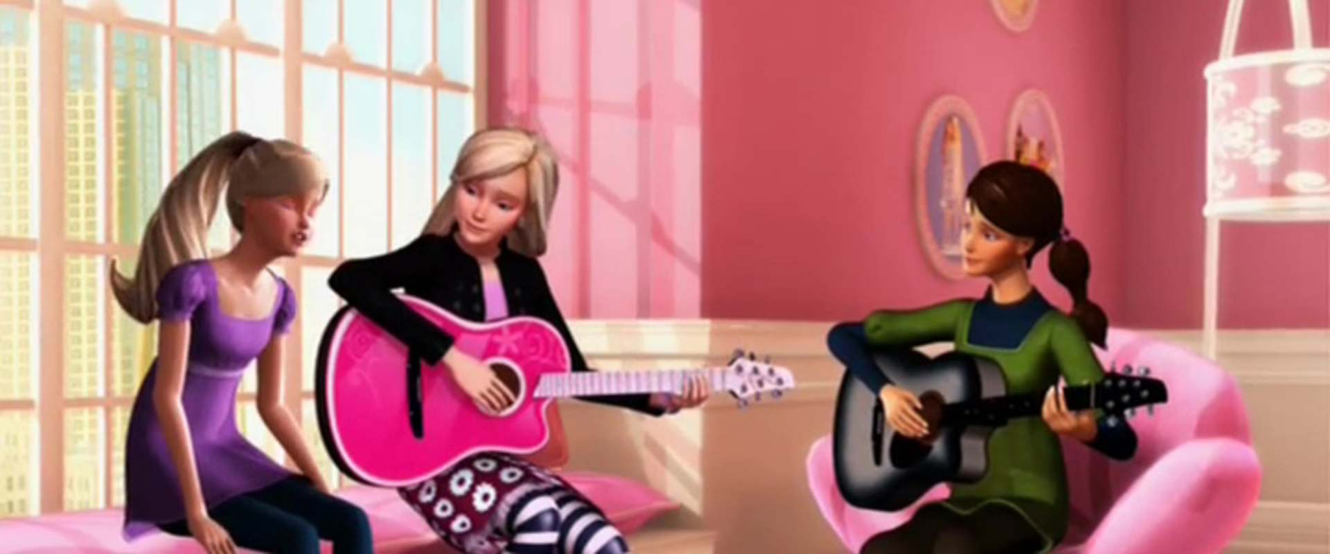 Barbie and the Diamond Castle background 2