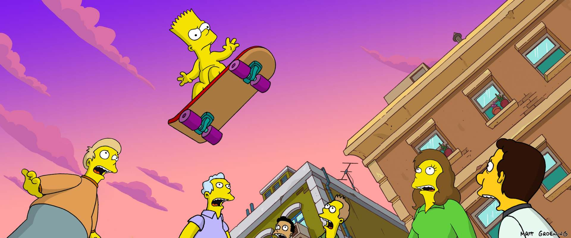 The Simpsons Movie background 1