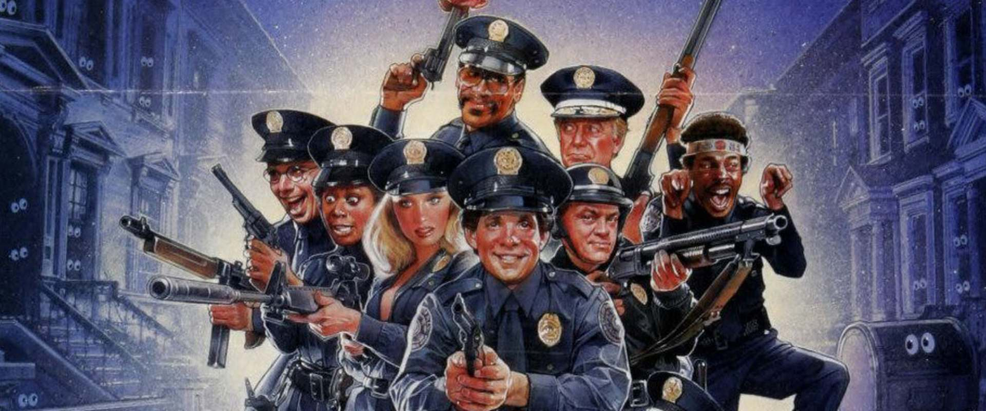 Police Academy 2: Their First Assignment background 1