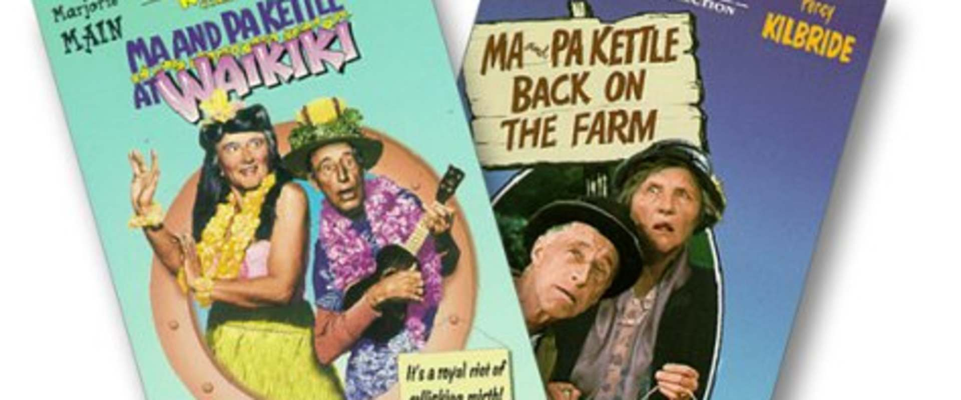 Ma and Pa Kettle Back on the Farm background 2