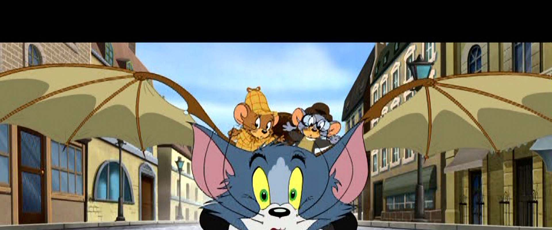 Tom and Jerry Meet Sherlock Holmes background 2