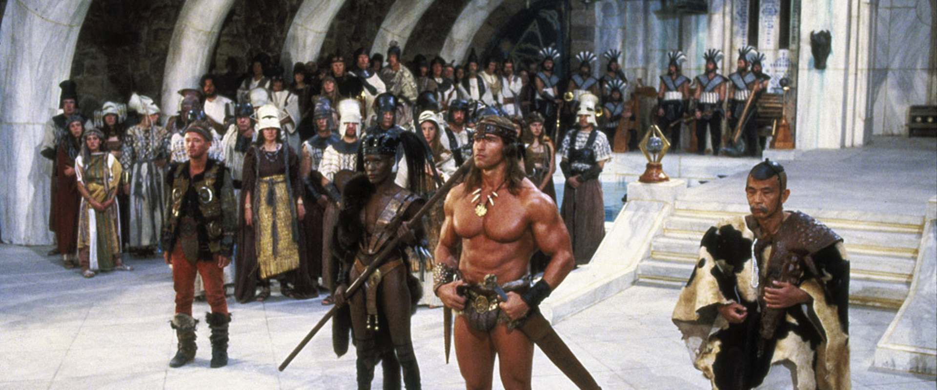 Conan the Destroyer background 1