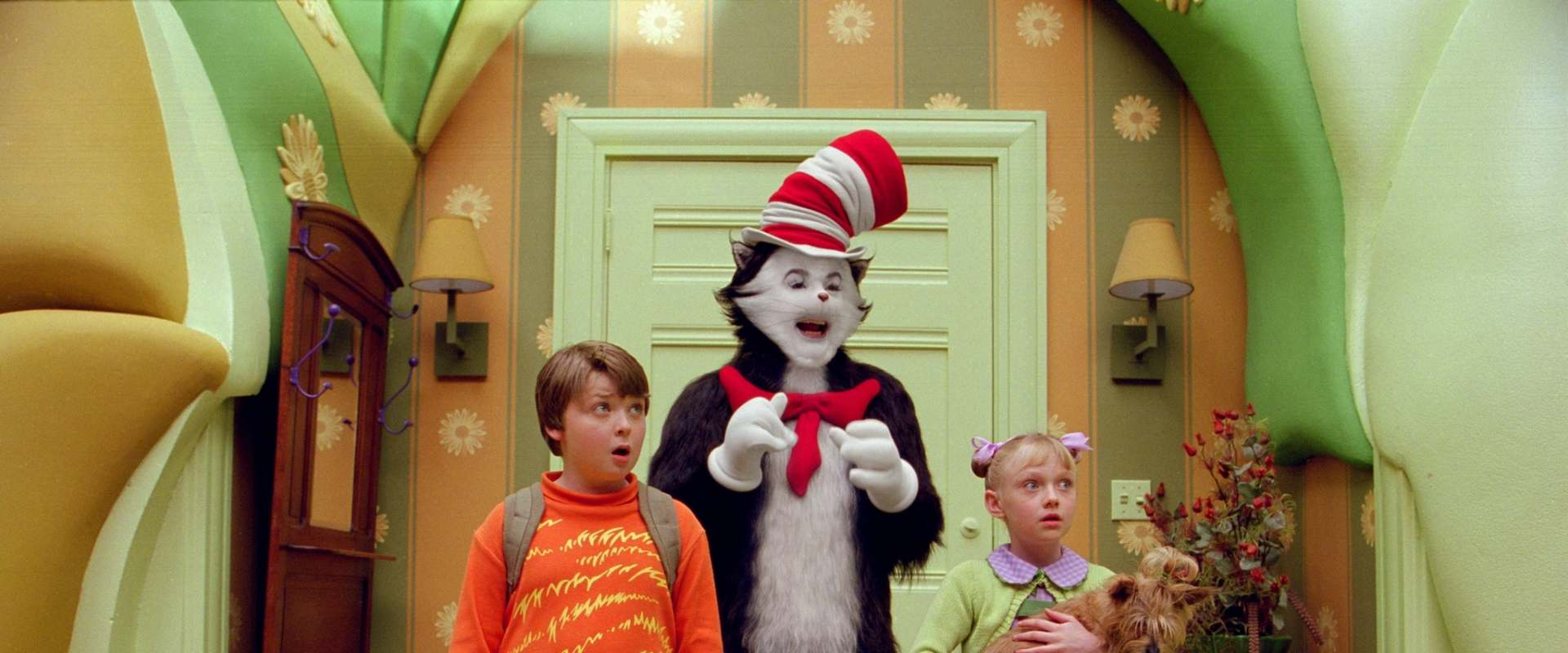 The Cat in the Hat background 1