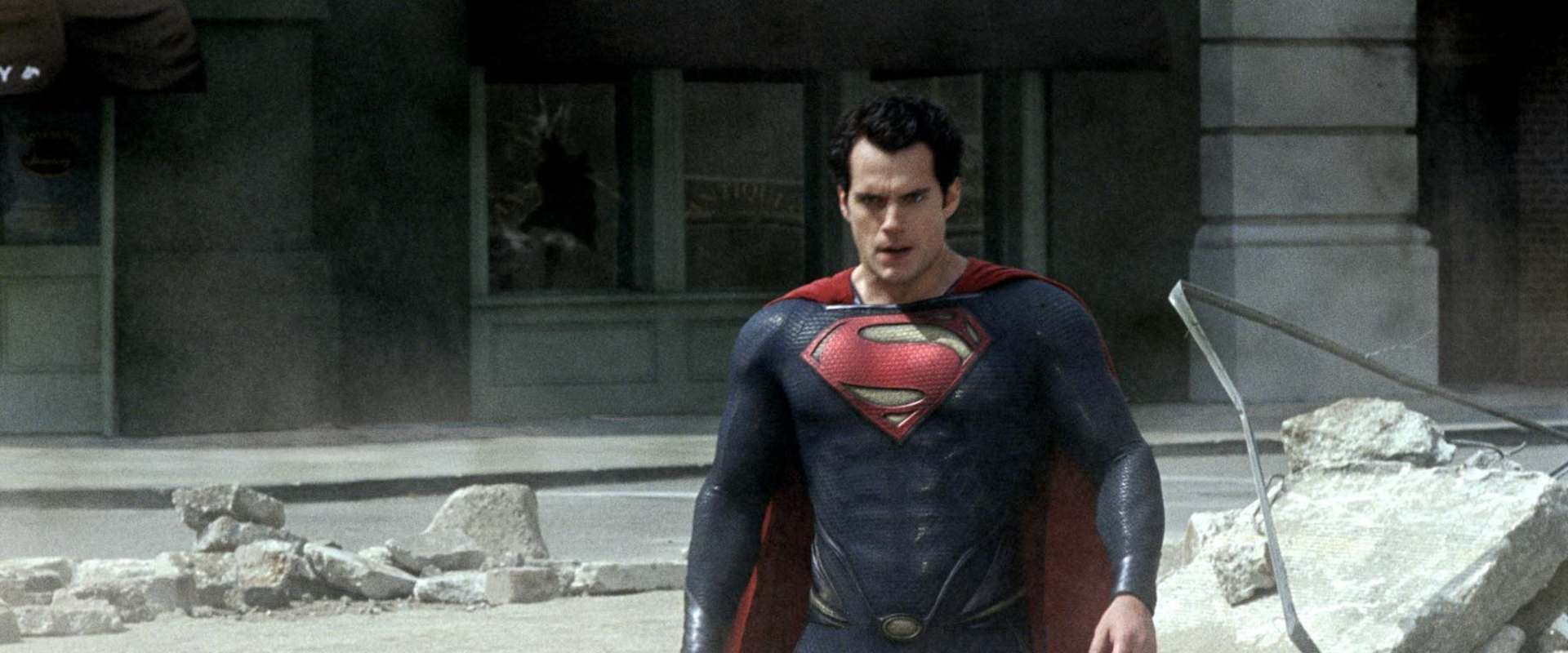 Man of Steel background 1