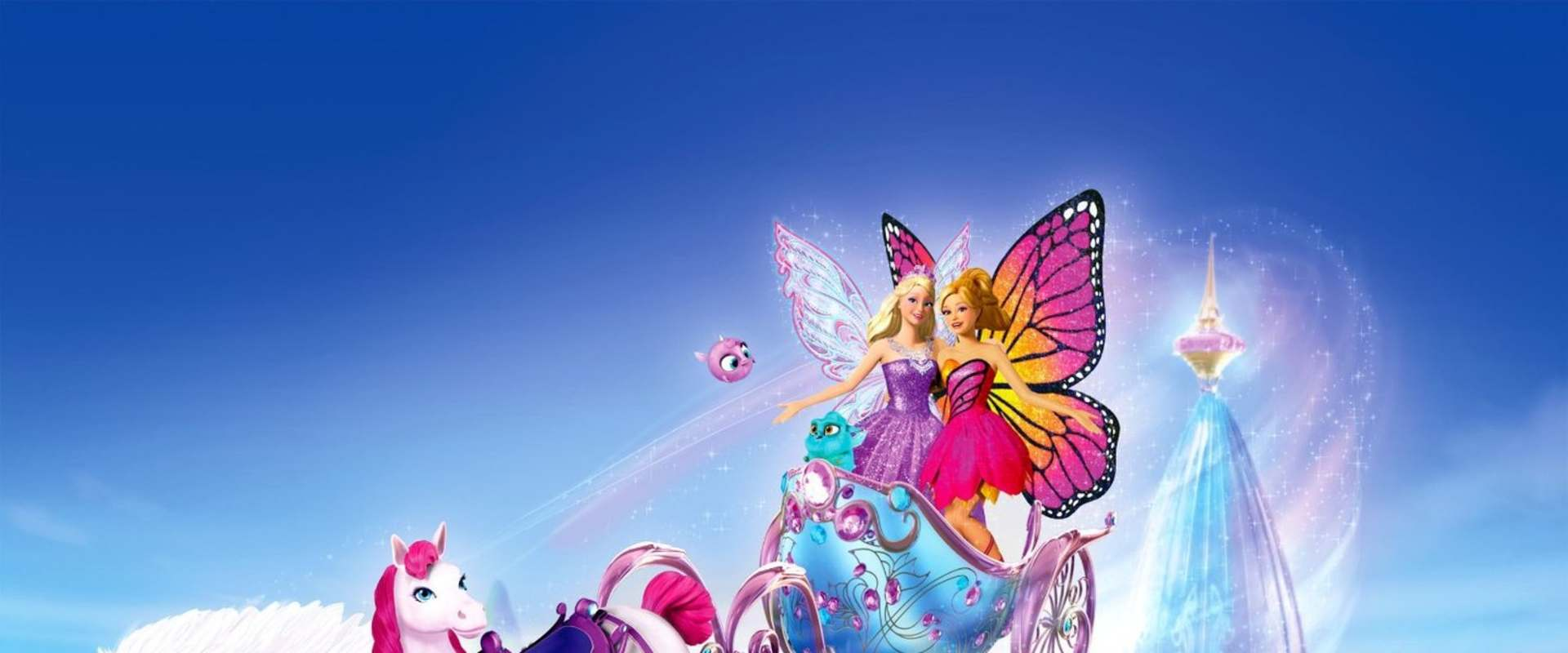 Barbie Mariposa & the Fairy Princess background 1