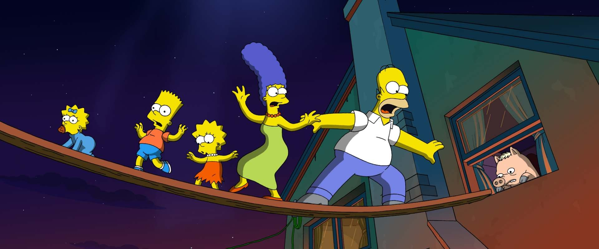 The Simpsons Movie background 2