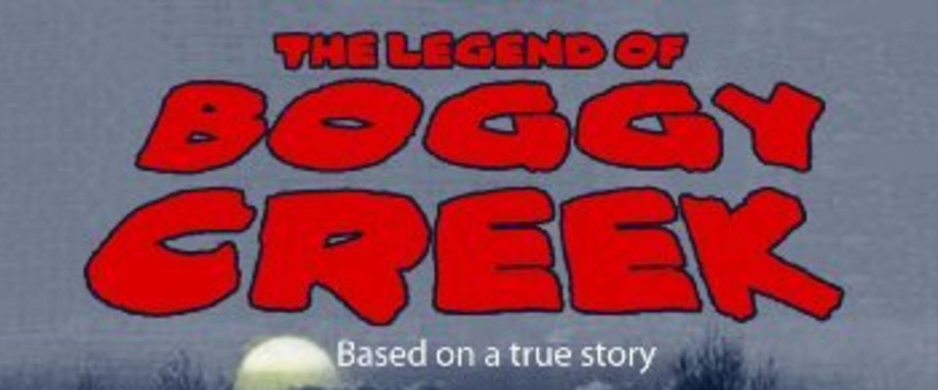The Legend of Boggy Creek background 1
