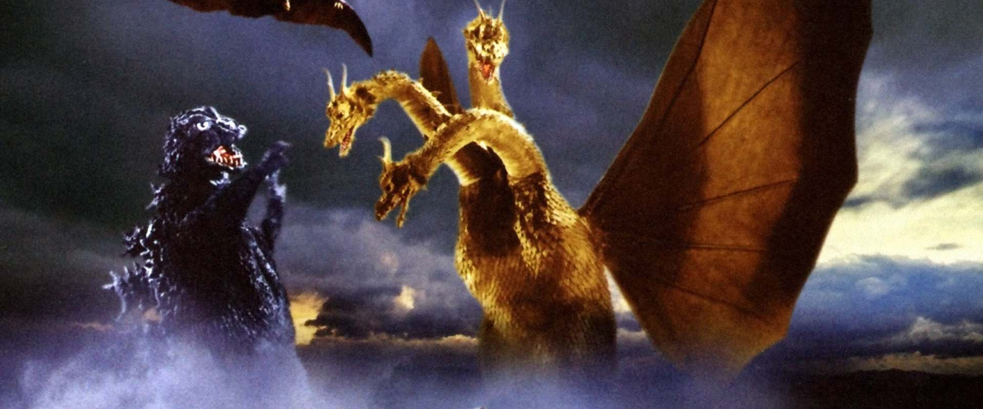 Ghidorah, the Three-Headed Monster background 2