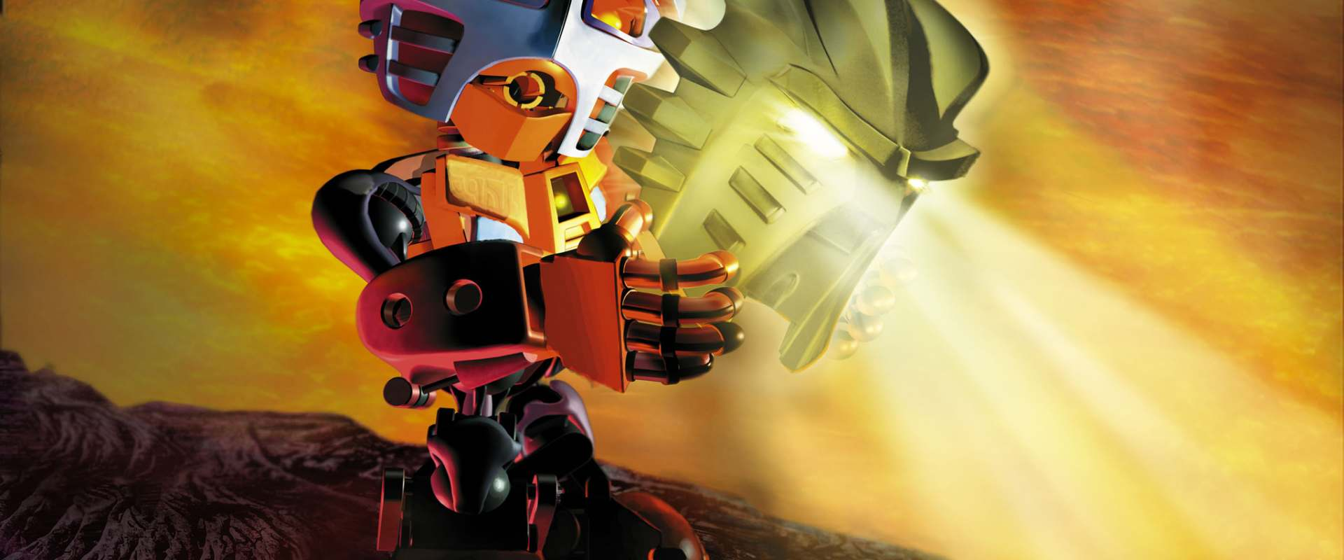 Bionicle: Mask of Light background 1