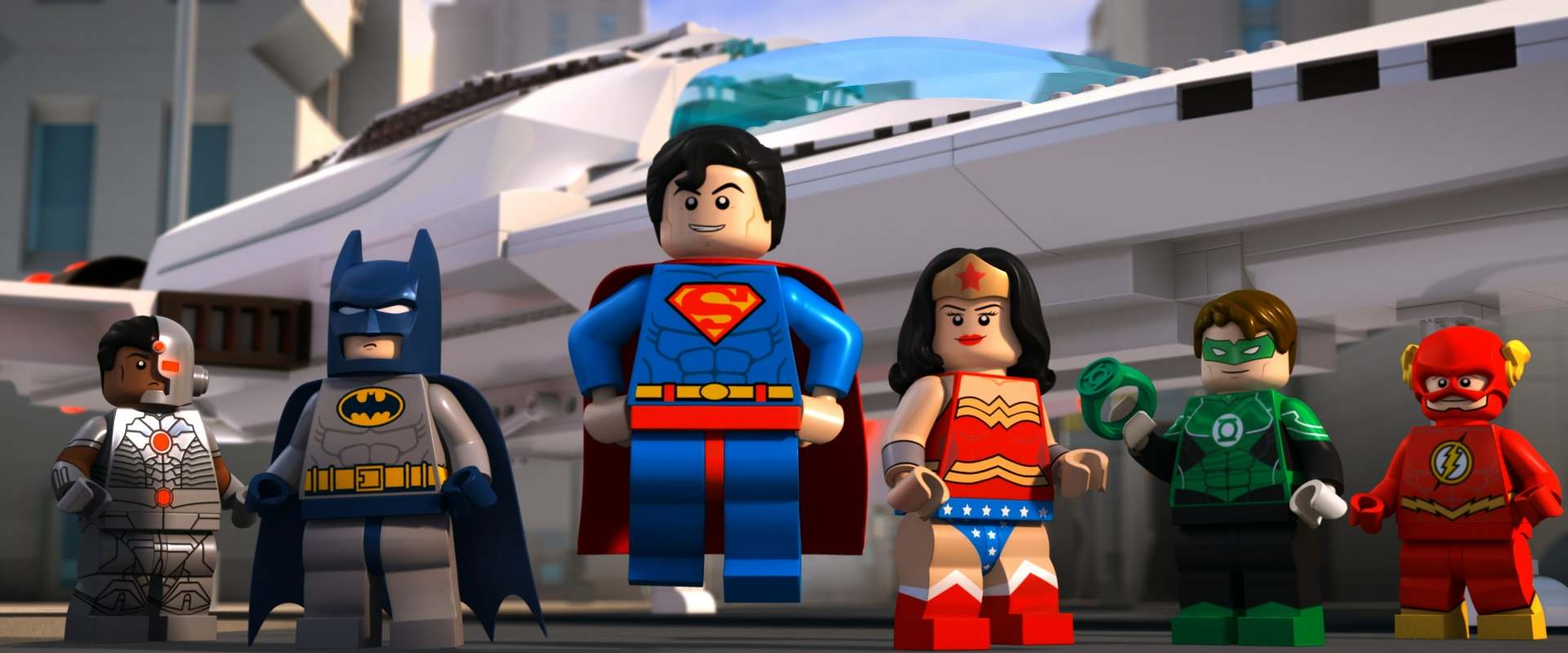LEGO DC Super Heroes: Justice League - Attack of the Legion of Doom! background 2