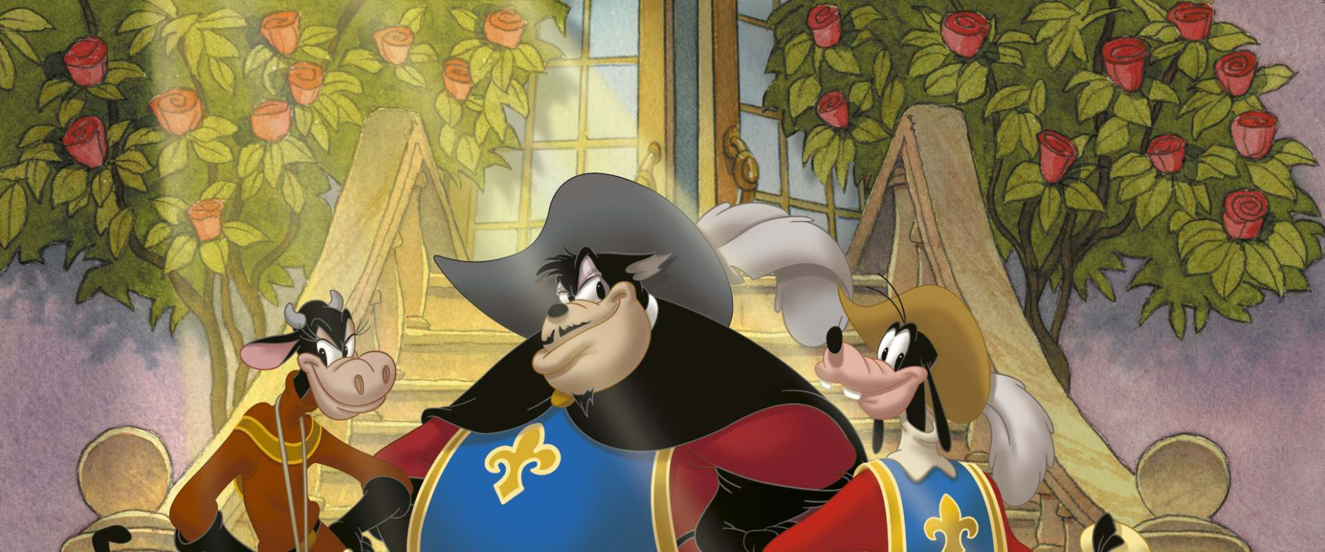 Mickey, Donald, Goofy: The Three Musketeers background 2