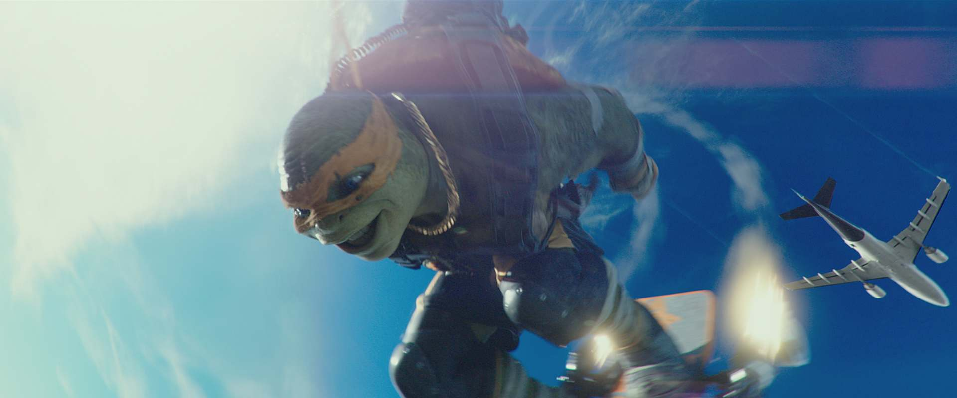 Teenage Mutant Ninja Turtles: Out of the Shadows background 1