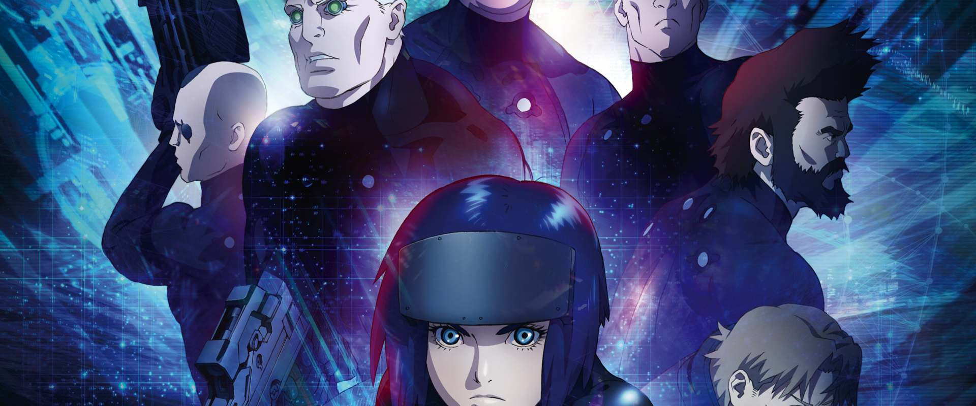 Ghost In The Shell: The New Movie background 2