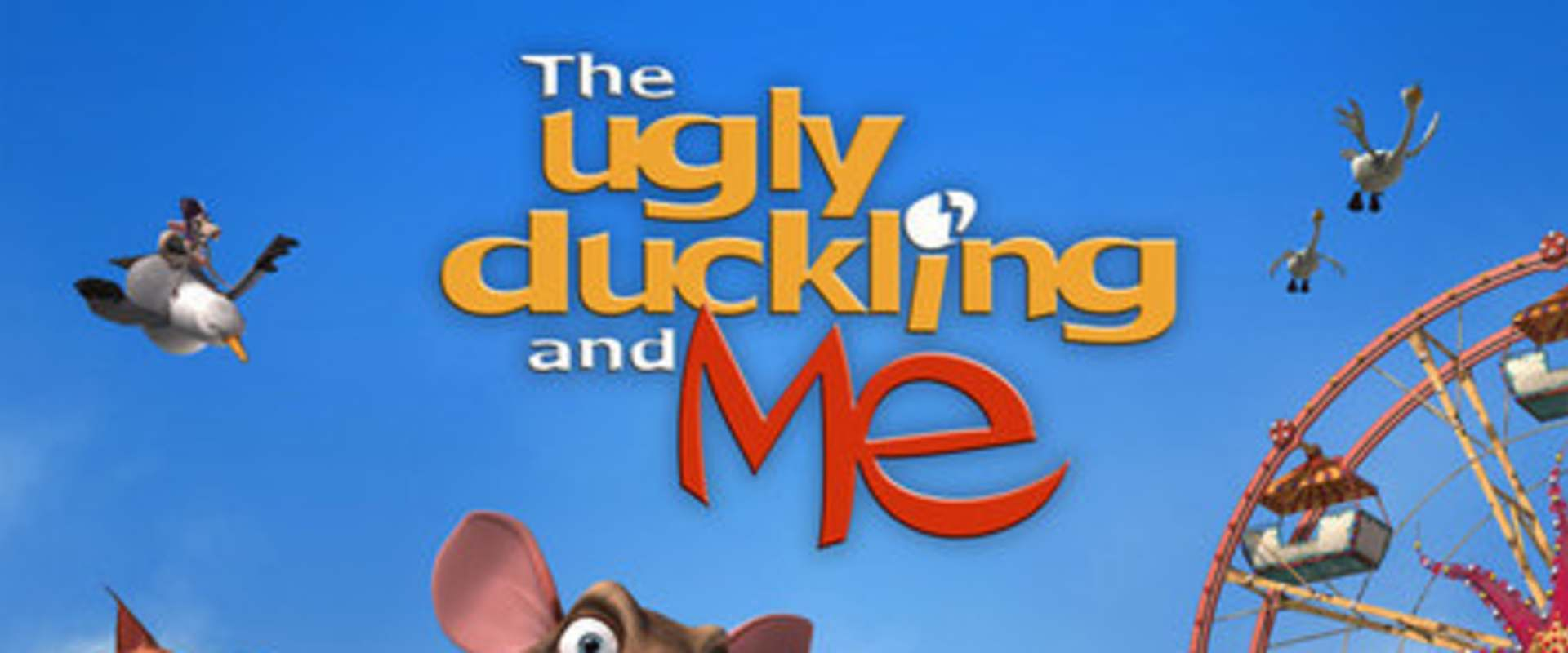 The Ugly Duckling and Me! background 2