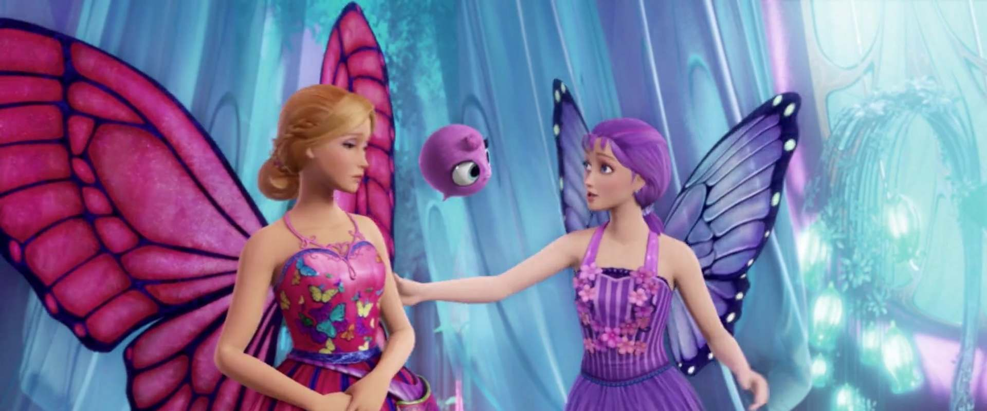 Barbie Mariposa & the Fairy Princess background 2