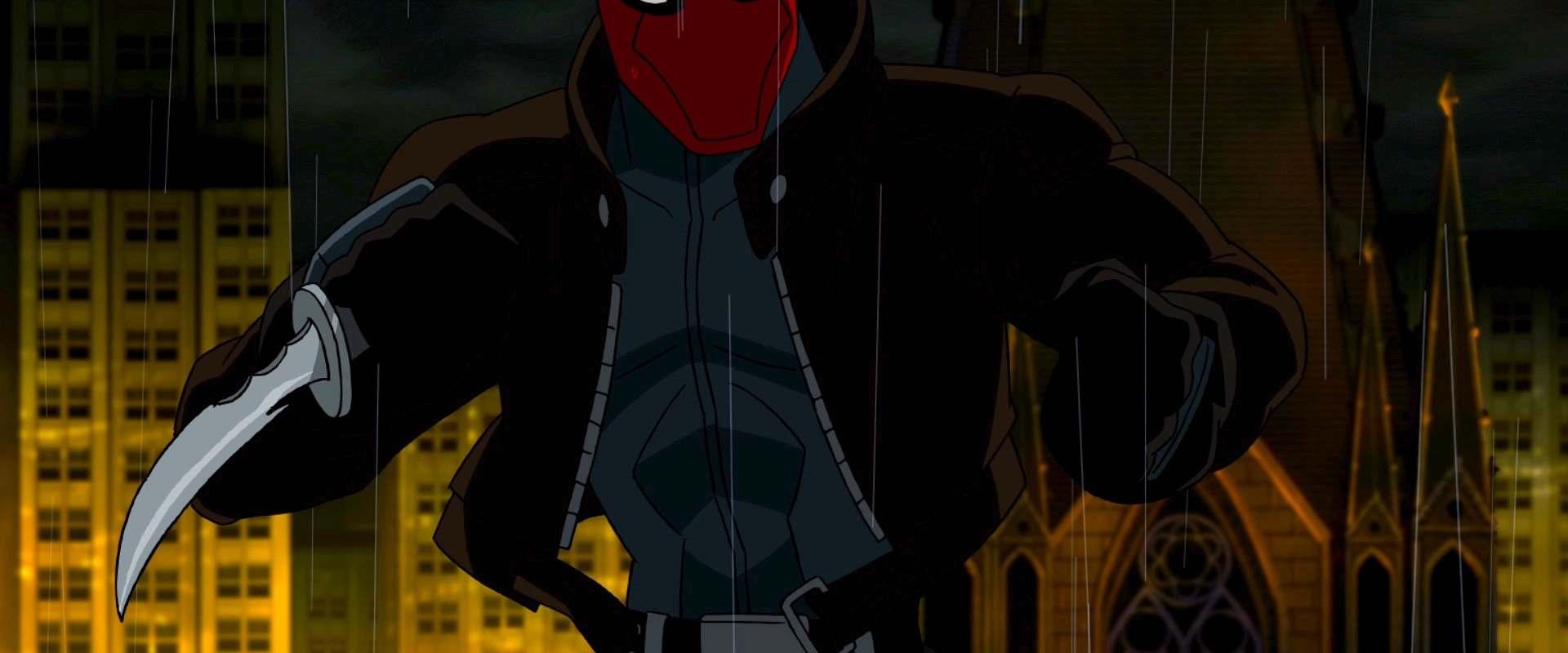 Batman Under The Red Hood Background 1