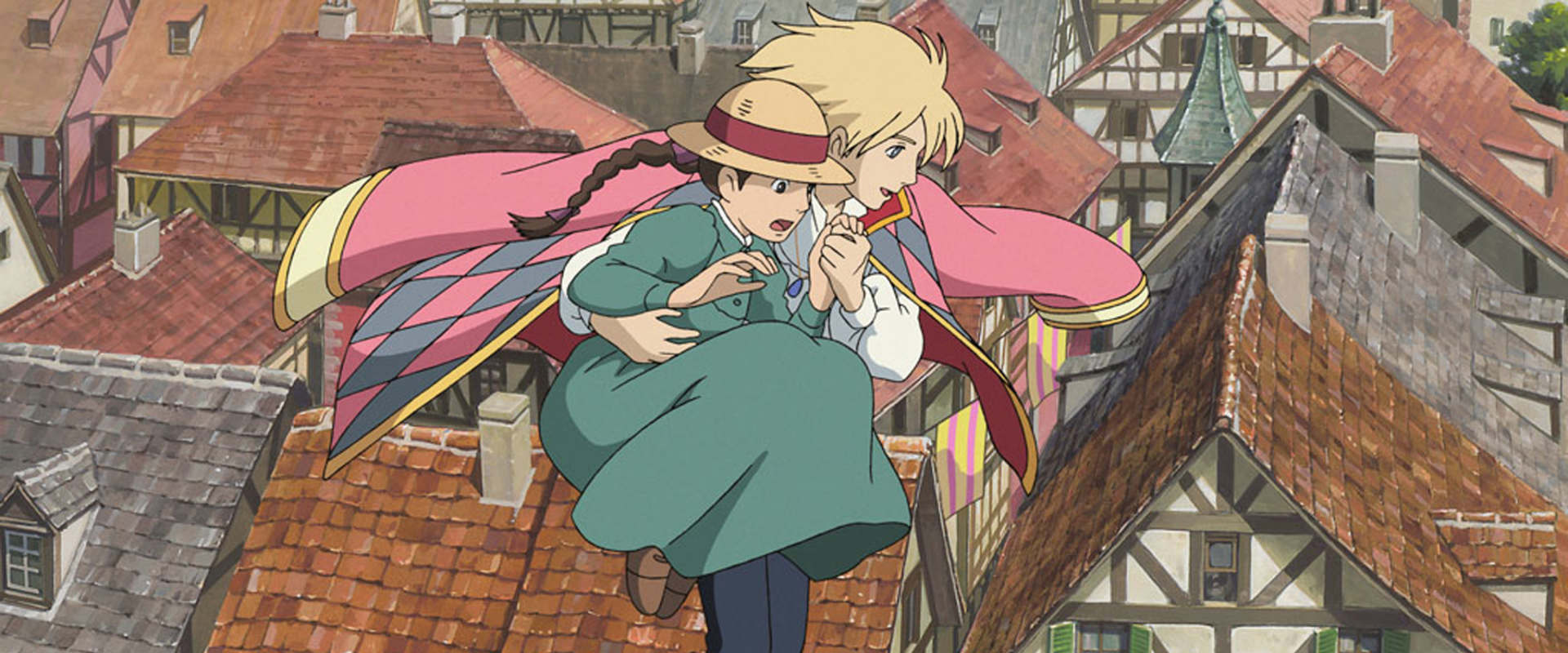 Howl's Moving Castle background 2