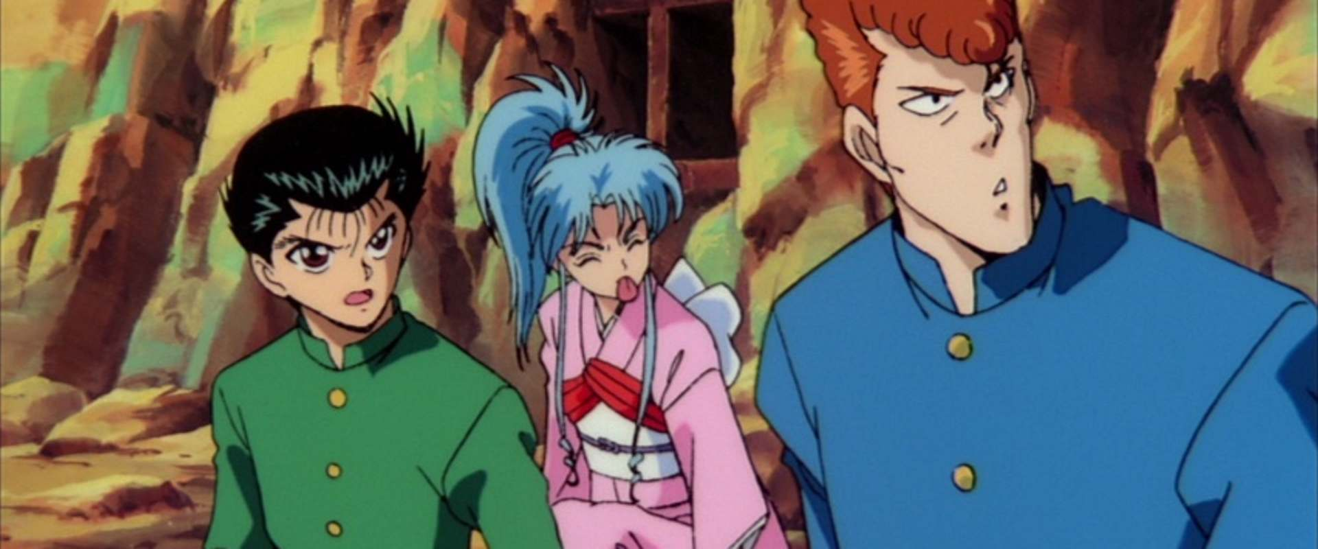 Yu Yu Hakusho: The Movie background 1