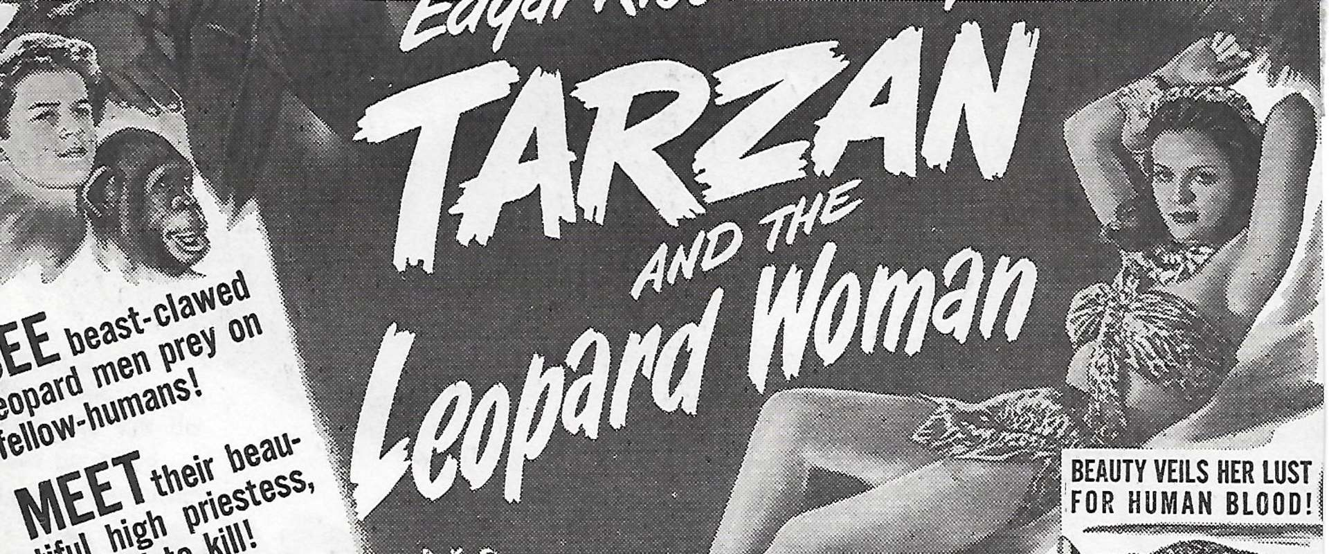 Tarzan and the Leopard Woman background 1
