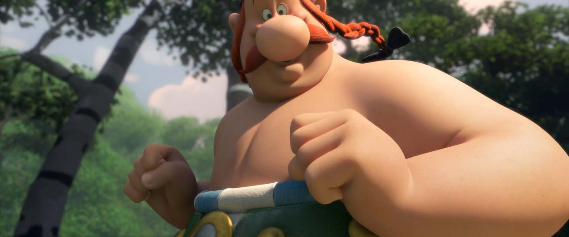 Asterix and Obelix: Mansion of the Gods background 1