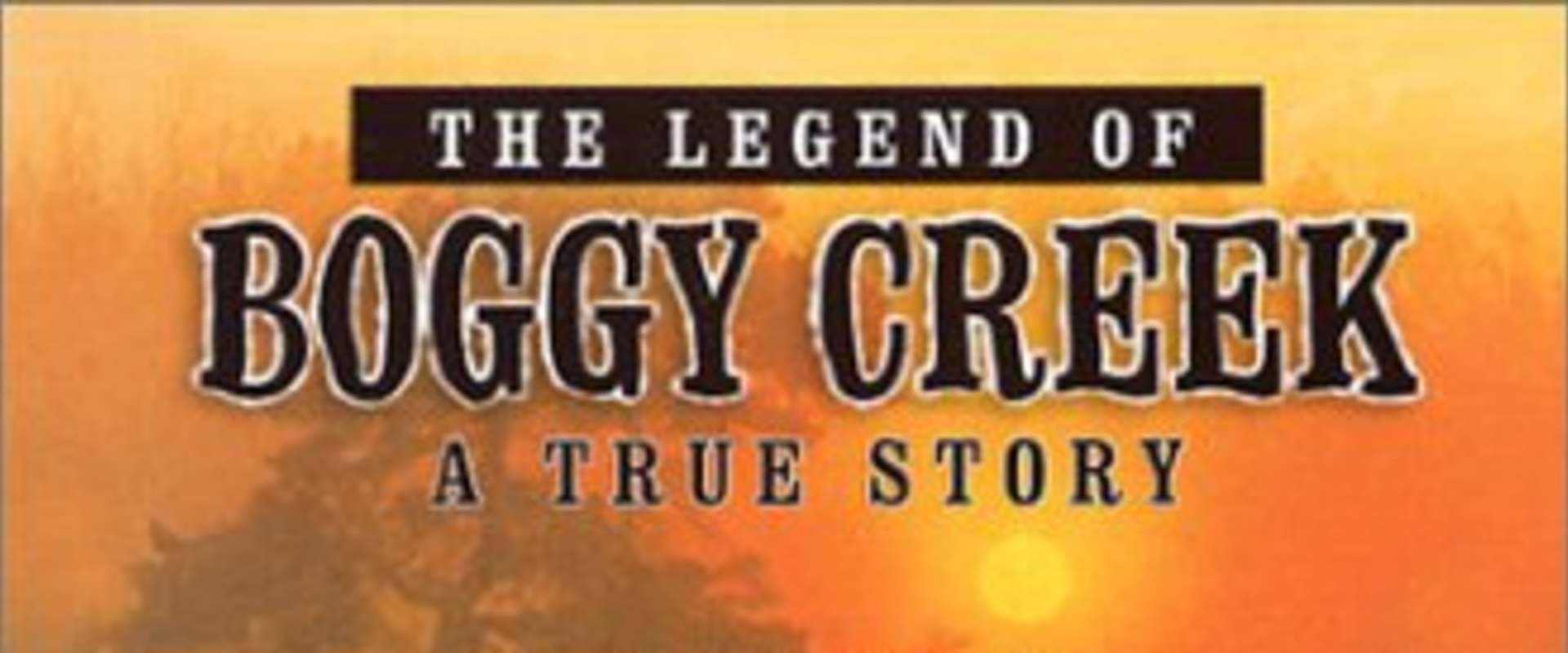 The Legend of Boggy Creek background 2