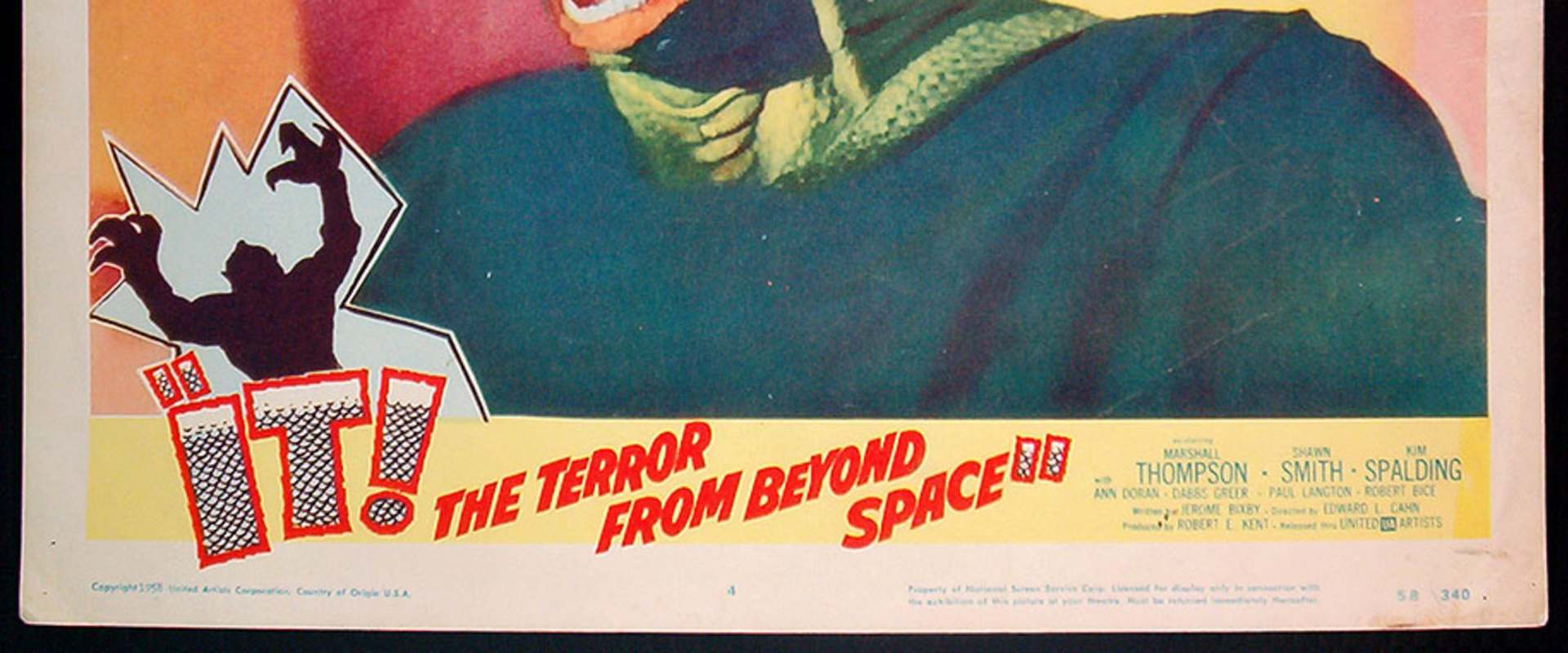 It! The Terror from Beyond Space background 1