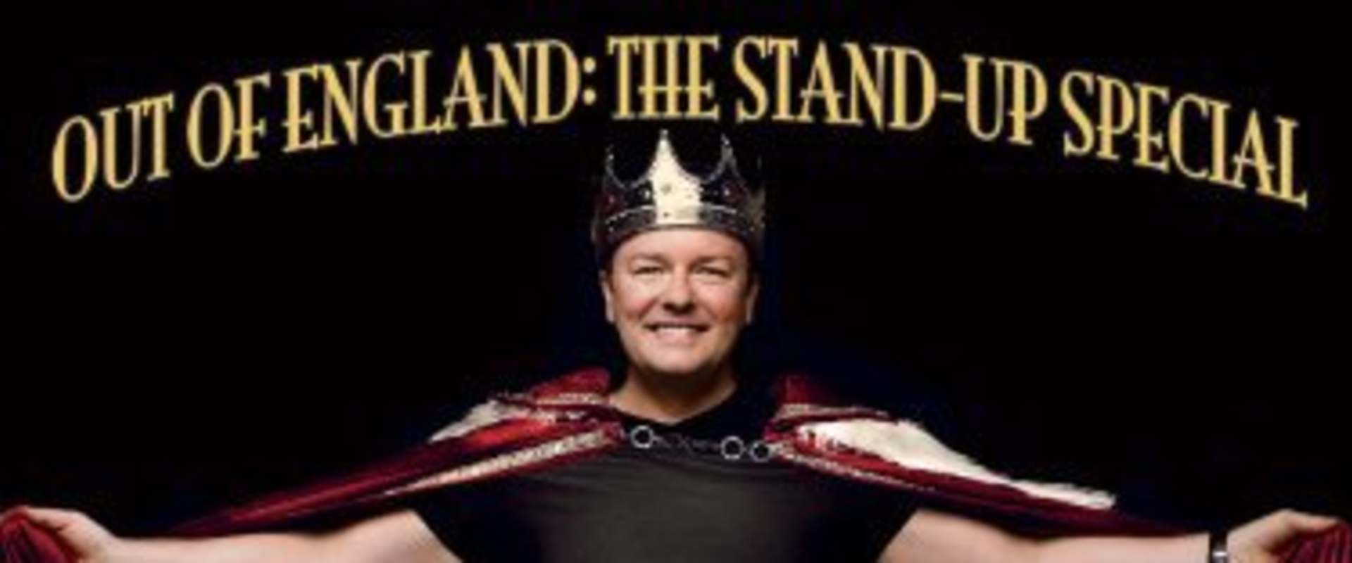 Ricky Gervais: Out of England - The Stand-Up Special background 1