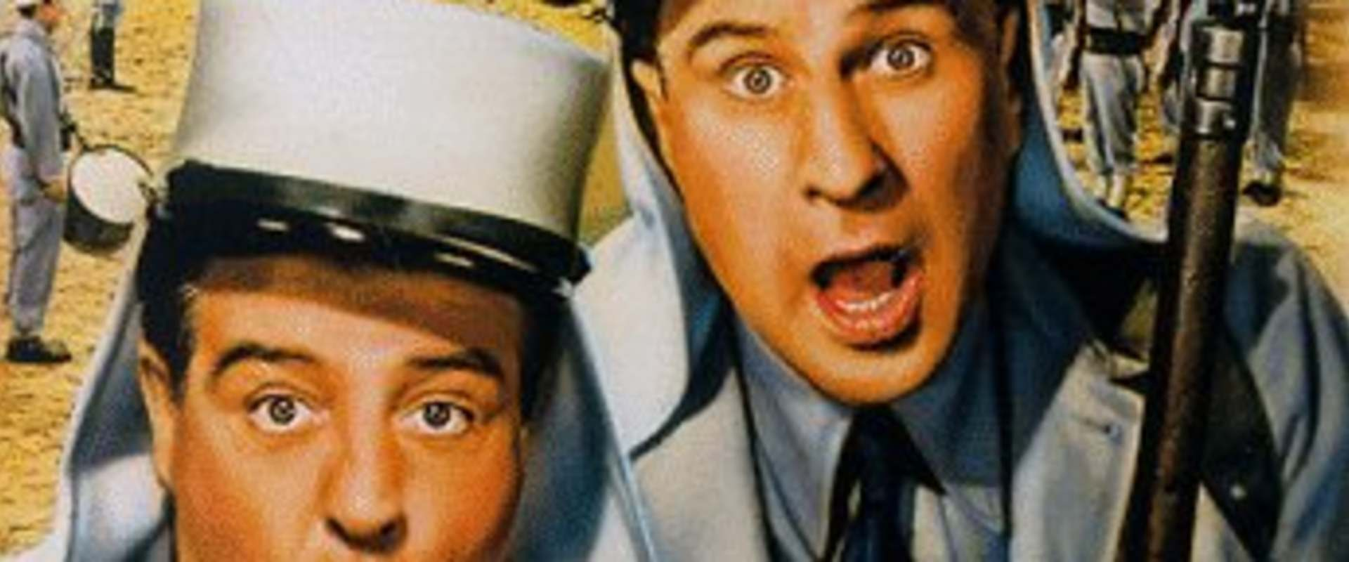 Abbott and Costello in the Foreign Legion background 1