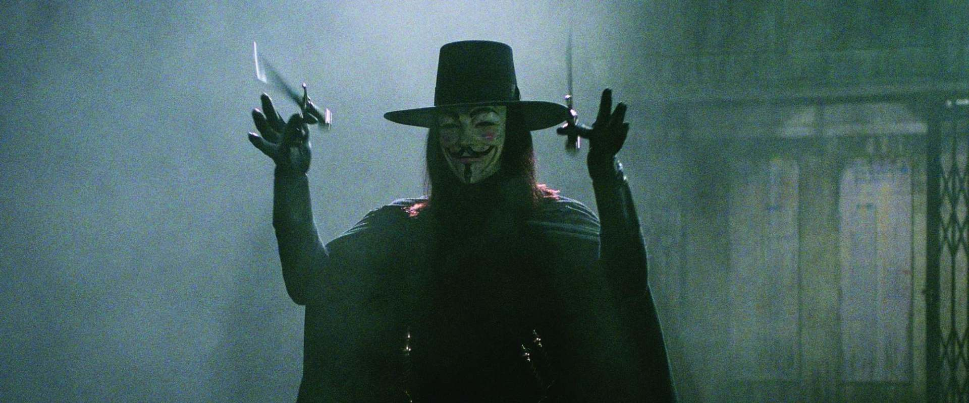 V for Vendetta background 1