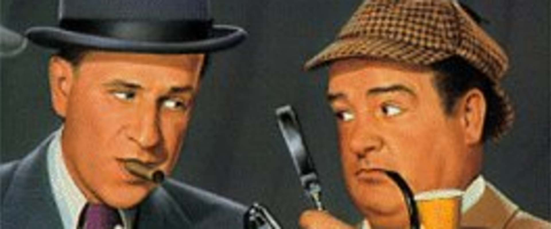 Abbott and Costello Meet the Invisible Man background 2