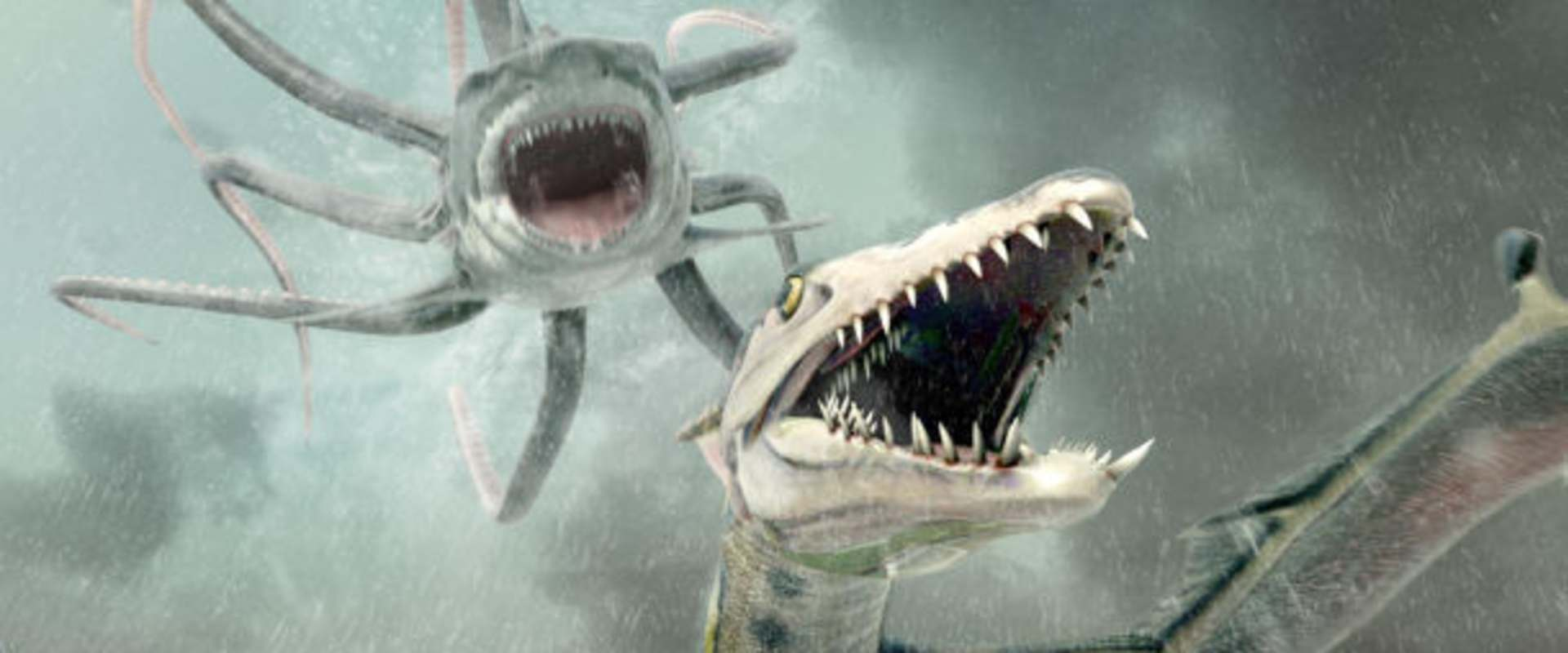 Sharktopus vs. Pteracuda background 2