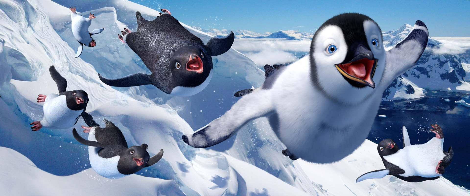 Happy Feet background 1