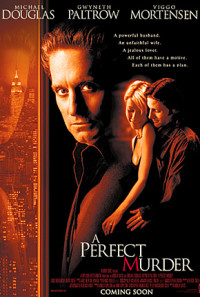 A Perfect Murder Poster 1