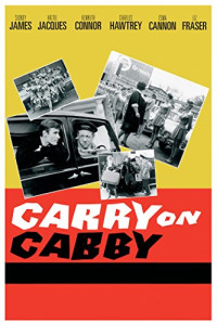 Carry on Cabby Poster 1