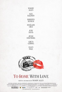 To Rome with Love Poster 1