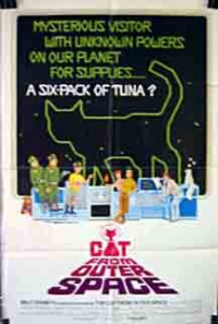 The Cat from Outer Space Poster 1