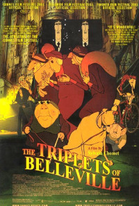 The Triplets of Belleville Poster 1