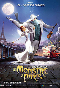 A Monster in Paris Poster 1