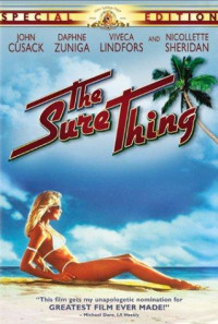 The Sure Thing Poster 1