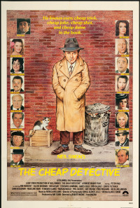 The Cheap Detective Poster 1