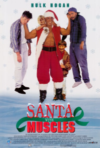 Santa with Muscles Poster 1