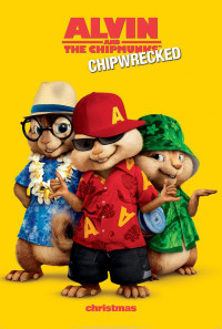 Alvin and the Chipmunks: Chipwrecked Poster 1