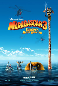 Madagascar 3: Europe's Most Wanted Poster 1